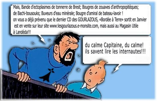 Bordée a Terre est en vente_Tintin