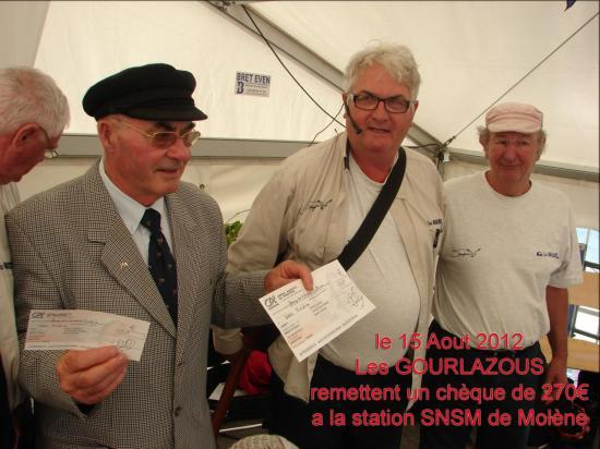 GLZ  chèque à la SNSM