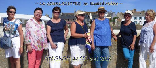 GOURLAZETTES à Molène